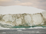 Icebergs and Seice from the Jacobshavn Glacier Photographic Print by Ashley Cooper
