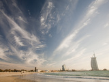 The Burj Al Arab Hotel in Dubai, Uae Photographic Print by Ashley Cooper