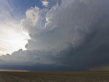 A Western Kansas High Precipitation Supercell Photographic Print by Charles Doswell