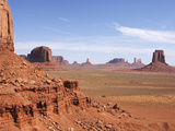 Monument Valley on the Navajo Indian Reservation, North Window, Arizona, USA Photographic Print by John Cornell
