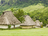 Navala Village in the Fijian Highlands Photographic Print by Ashley Cooper