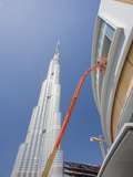 The Burj Dubai, the World's Tallest Building, and New High Rise Construction Photographic Print by Ashley Cooper