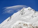 Lenticular Clouds Off the North Peak of Denali Viewed from the West Side, Denali National Park Photographic Print by Patrick Endres