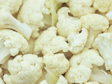 Pieces of Crunchy, Nutritious Cauliflower Photographic Print by Wally Eberhart