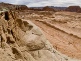 Lower South Desert Valley Overlook, Cathedral Valley Photographic Print by Gerald & Buff Corsi
