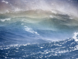 Rough Seas in the Drake Passage, Antarctica Photographic Print by Patrick Endres