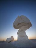 Cone Formations in Limestone, White Desert National Park, Libyan Desert, Egypt Photographic Print by Reinhard Dirscherl