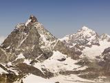 The Matterhorn Above Zermatt, Switzerland Photographic Print by Ashley Cooper