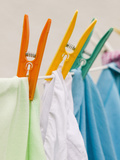 Clothes Drying on a Line Photographic Print by Ashley Cooper