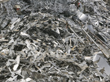 Scrap Metal at a Recycling Plant Photographic Print by Ashley Cooper