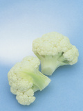 Cauliflower (Brassica Oleracea) Photographic Print by Wally Eberhart