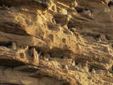 Dogon Tombs in the Bandiagara Escarpment, Mali Photographic Print by Gary Cook