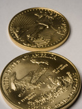 United States Gold Bullion Coins Photographic Print by Jeff Daly