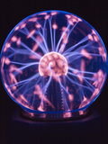 Plasma Lamp Photographic Print by Jeff Daly