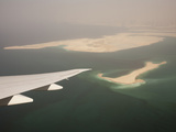 Flying over the Persian Gulf Near Dubai, Uae Photographic Print by Ashley Cooper