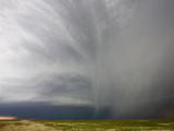 Hail Shafts from a Western Kansas Supercell Photographic Print by Charles Doswell