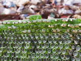 Glass Bottles Collected for Recycling Photographic Print by Ashley Cooper