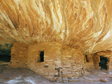Anasazi or Ancient Puebloan Cliff Dwelling in South Mule Canyon, Cedar Mesa Photographic Print by John Cornell