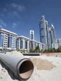 New Buildings and Building Sites in Dubai Photographie par Ashley Cooper