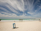 A Public Sandy Beach in Dubai, Uae Photographic Print by Ashley Cooper