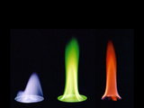 Methanol and Flame Colors Photographic Print by Philip Evans