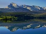 Lake Sherburne, Glacier National Park, Montana Photographic Print by Adam Jones