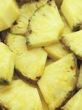 Chunks of Fresh Pineapple Photographic Print by Wally Eberhart