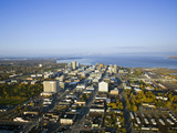 Downtown Anchorage Alaska in the Fall Photographic Print by Paul Andrew Lawrence
