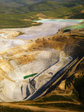 Aerial View of the Fort Knox Gold Mine Just North of Fairbanks Photographic Print by Paul Andrew Lawrence