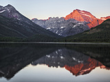 Swiftcurrent Lake and Grinnell Point, Glacier National Park, Montana Photographic Print by Adam Jones