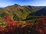 Autumn View of Linville Gorge in the Appalachian Mountains Photographic Print by Adam Jones