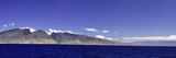 Panorama of the Entire Island of Maui Molokini Photographic Print by David Fleetham