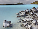 Blue Lagoon, Iceland Photographic Print by Adam Jones