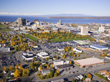 Downtown Anchorage in the Fall Photographic Print by Paul Andrew Lawrence