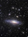 NGC 7331 Spiral Galaxy in Pegasus Photographic Print by Robert Gendler