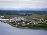 Dillingham in Bristol Bay Is the Center for Some 36 Alaskan Native Villages, Alaska, USA Photographic Print by Paul Andrew Lawrence