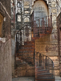 Spiral Stairs, Mehrangarh Fort, Jodhpur, India Photographic Print by Adam Jones