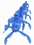 Conceptual Illustration of Futuristic Military Nanorobots Photographic Print by Victor Habbick