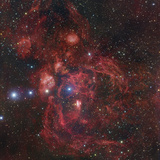 The Lobster Nebula in Scorpius, NGC 6357 Photographic Print by Robert Gendler