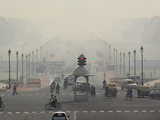 Air Pollution, New Delhi, India Photographic Print by Adam Jones