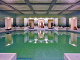 Luxurious Swimming Pool, Umaid Bhawan Palace Hotel, Jodjpur, India Photographic Print by Adam Jones