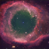NGC 7293, the Helix Nebula Is the Nearest Planetary Nebula to Our Sun Photographic Print by Robert Gendler