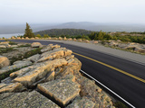 Road on Cadillac Mountain at Sunrise, Acadia National Park, Maine Photographic Print by Adam Jones