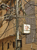 Unsafe Electrical Wiring on a Street in Delhi, India Photographic Print by Adam Jones