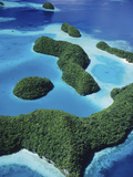 Rock Islands, Palau, Micronesia Photographic Print by Henry Lehn