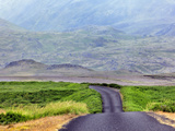 Road, Snefellsnes Peninsula, Iceland Photographic Print by Adam Jones