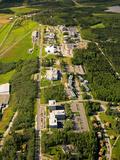 Aerial View of the University of Alaska, Fairbanks, USA Photographic Print by Paul Andrew Lawrence