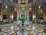 Interior Rotunda of Umaid Bhawan Palace Hotel, Jodjpur, India Photographic Print by Adam Jones