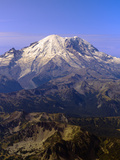 Mt. Rainier is 14,411.1 Feet, Mt. Rainier National Park, Washington Photographic Print by Paul Andrew Lawrence
