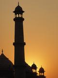 Taj Mahal at Sunset, Agra, India Photographic Print by Adam Jones